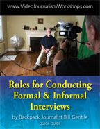 Rules for Conducting Formal & Informal Interviews